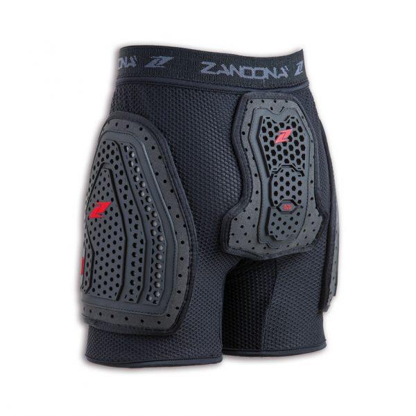 6030K_Esatech-Shorts-Kid_BLACK-2 de Zandona