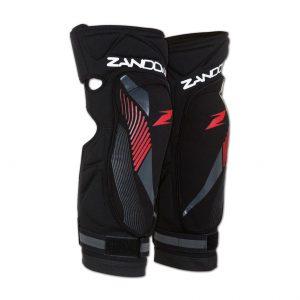 3224K_3223K_Soft-Active-Kneeguard-Kid-Lady-10-14_Front_Black-Zandona